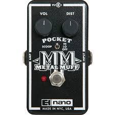Electro-Harmonix Nano <b>Pocket Metal</b> Muff гитарная педаль <b>Metal</b> ...