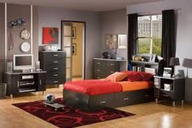 outstanding look of bedroom decorating ideas for teenage guys dazzling design ideas using rectangular red bedroom furniture for guys