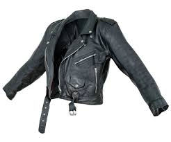 Vintage Jacket Moto Black Leather Open | Resources - ArtStation