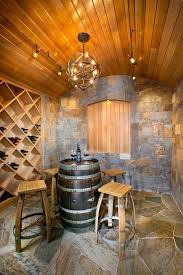 peak 8 penthouse new construction mediterranean wine cellar barrel wine cellar designs