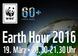 Image result for earth hour 2016