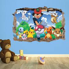 Pokemon Bedroom Decor Pokemon Catch Repeat Print Design Duvet Set Multi Colour Double