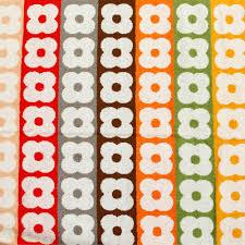 living room orla kiely multi: orla kiely multi flower stripe towel hand towel
