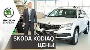 SUV <b>SKODA KODIAQ</b> 2019 | Цены и комплектации <b>моделей</b> ...