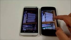 HTC One vs Nexus 4: il confronto di TuttoAndroid - YouTube