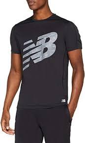 New Balance Men's <b>Printed Accelerate Short</b> Sleeve Tee: Amazon ...