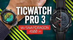 <b>Ticwatch Pro 3</b> Review: Wear OS Finally Works! - YouTube