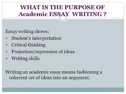 by kristina yegoryan essay structure what is an essay the word  what is the purpose of academic essay writing  essay writing shows students interpretation critical