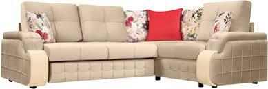 Купить <b>диван</b> тканевый <b>угловой Николь</b> Velure бежевый (Велюр ...