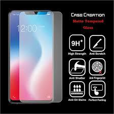Case Creation 3D <b>Matte Glass for</b> Vivo V9, <b>Matt</b>/<b>Matte Tempered</b> ...