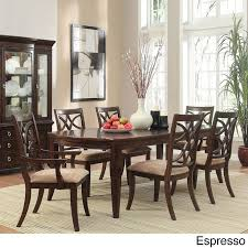 seven piece dining set: tribecca home cheshire  piece traditional dining set overstocka shopping big discounts