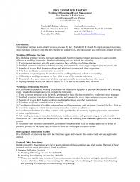 cover letter event planning contract templates event cqgmnevent planning contracts event planning contract templates