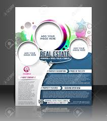 real estate flyer stock vector illustration and royalty real estate flyer real estate flyer poster template design