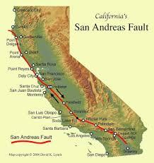 Image result for earthquake split americas  land in half