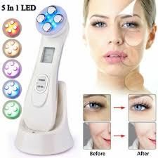 RF/<b>EMS</b>/LED Light Therapy Photon <b>Face Skin</b> Care Spa Electric ...