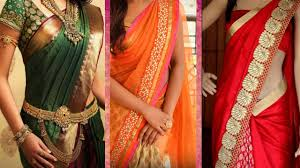 3 Different Ways of Wearing Saree to Look Slim with Perfect Thin ...