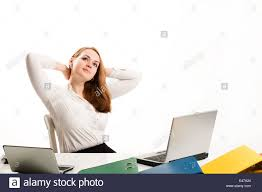 rest w holiday break brown hair confident successful folders stock photo rest w holiday break brown hair confident successful folders girl people business women new computer girls female light work