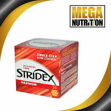 Stridex <b>Single</b>-<b>Step Acne Control</b> Maximum Alcohol Free | 55 Soft ...