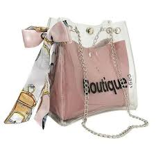 <b>2018 Women Brand Mini</b> Small Shoulder Bag Clear Transparent ...