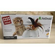 <b>Игрушка</b> интерактивная для кошек <b>Gigwi PetDroid Feather</b> Hider ...