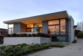Cool House Plans in Contemporary Ways   HomesCorner ComSimple Modern House With Charming Lighting