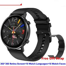 Diliberto <b>DT96 Smart Watch Men</b> Women 1.3inch Retina Full Touch ...