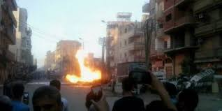 Hasil gambar untuk church bomb in Egypt tanta