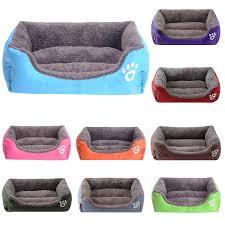 (<b>S 3XL</b>) Soft Fleece Nest <b>Dog</b> Baskets Mat Autumn Winter ...