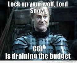 Lock up your wolf Jon Snow - Game Of Thrones Memes | Game Of ... via Relatably.com