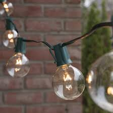 outdoor globe string lights photo patio lights commercial clear globe string lights  g e bulbs green wir