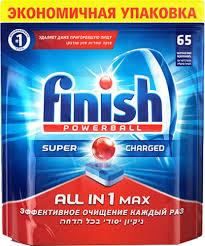 <b>Таблетки</b> для посудомоечных машин <b>FINISH</b> – купить <b>таблетку</b> ...