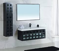f inspiring modern wall mount single bathroom sink and vanities for small spaces with features white marble tops combine black paint wood holes cabinet bathroom furniture popular design
