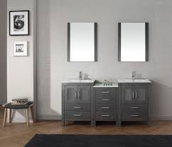 bathroom layout ideas rustic wooden vanity: rustic grey bathroom vanities without tops with sink and silver faucet for bathroom furniture ideas