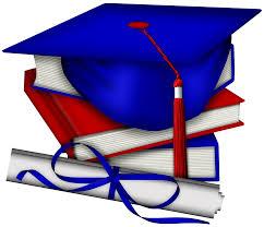 Image result for clipart blue graduation