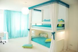attractive teenage bedroom ideas interior design with white bunk bed along light blue covered bed linen bunk bed lighting ideas