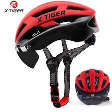 X TIGER <b>2020</b> Pro <b>Cycling</b> Helmet Ultralight <b>Windproof</b> Lenses ...
