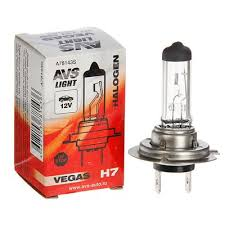 Галогенная <b>лампа AVS Vegas</b>, <b>H7</b>, 12V, 55W арт.1916281 в ...