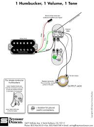 wiring diagram for single humbucker single volume wiring guitar bass pickup wiring artist relations on wiring diagram for single humbucker single volume