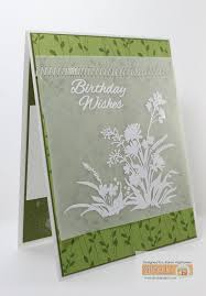 this one i used gina k designs product stamp set wild blossoms beamsderfer bright green office
