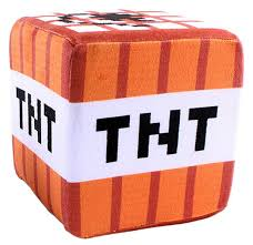 Купить мягкая игрушка <b>Minecraft</b> TNT <b>Block</b> (ТНТ Блок) маленький ...