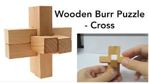 Burr <b>Puzzle 3D Wooden</b> Cross - Solution - YouTube