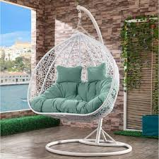 <b>Подвесное кресло AFINA</b> GARDEN AFM-109A White/Green ...