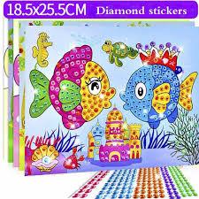 DIY Diamond Stickers Handmade Crystal Paste Painting <b>Mosaic</b> ...