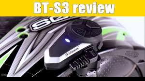 boblov bt s3 motorcycle intercom 1000m helmet water resistant interphone 3 rider at max headset