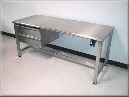 stainless kitchen work table: image of stainless steel work bench designs