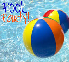 Image result for kids pool party clipart