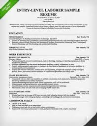 resume objective statement laborer   how to write a customer    resume objective statement laborer