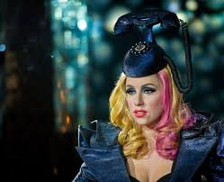Image result for lady gaga telephone hat