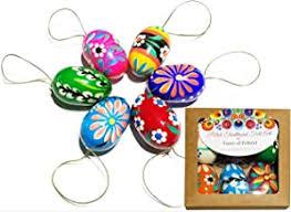 Hand Painted Eggs - Amazon.com