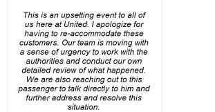 """The CEO of United had an astonishingly bad """"apology"""" for the ..."""